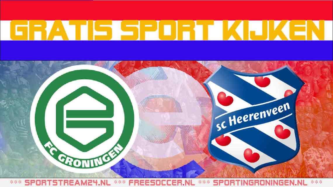 Livestream FC Groningen vs SC Heerenveen