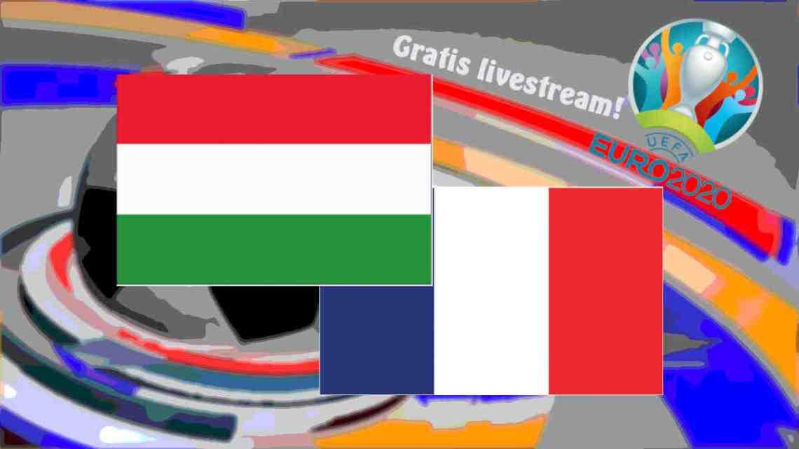 Livestream Hongarije - Frankrijk