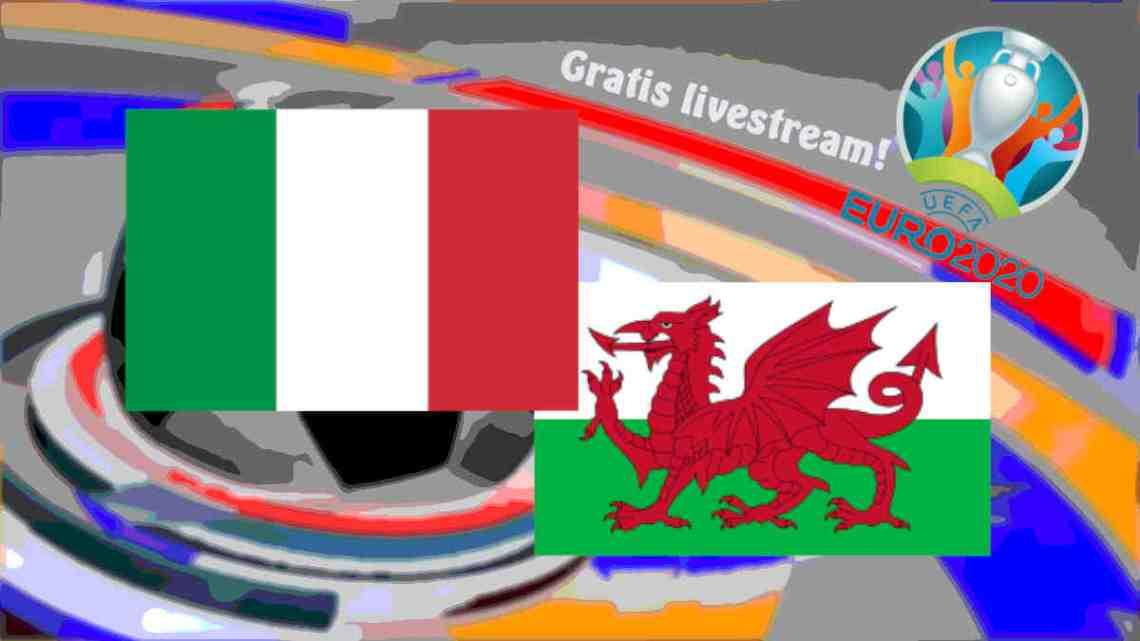 Livestream Italië - Wales