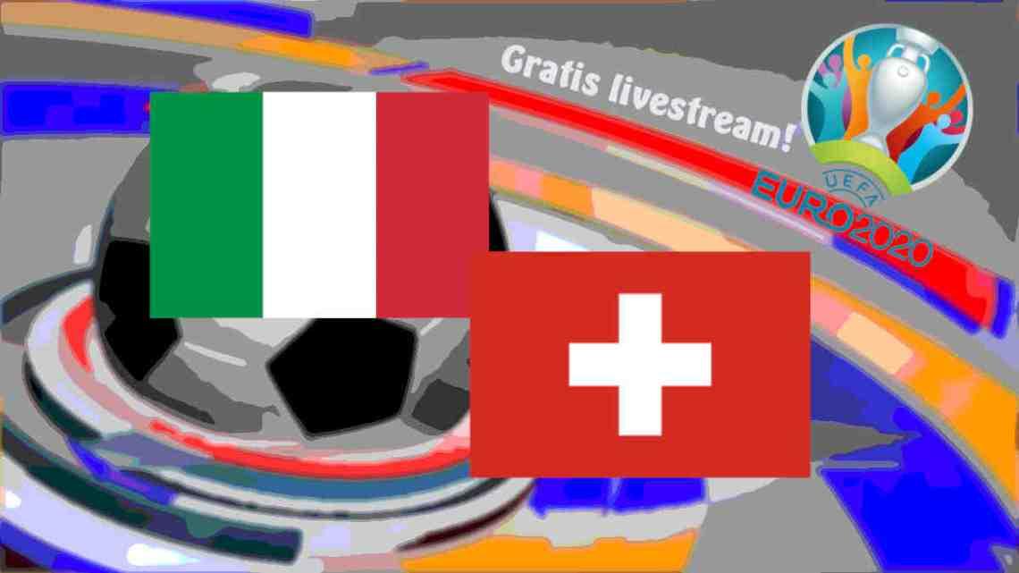 Livestream Italië - Zwitserland