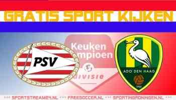 Livestream Jong PSV - ADO Den Haag