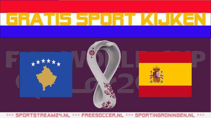 Livestream Kosovo - Spanje