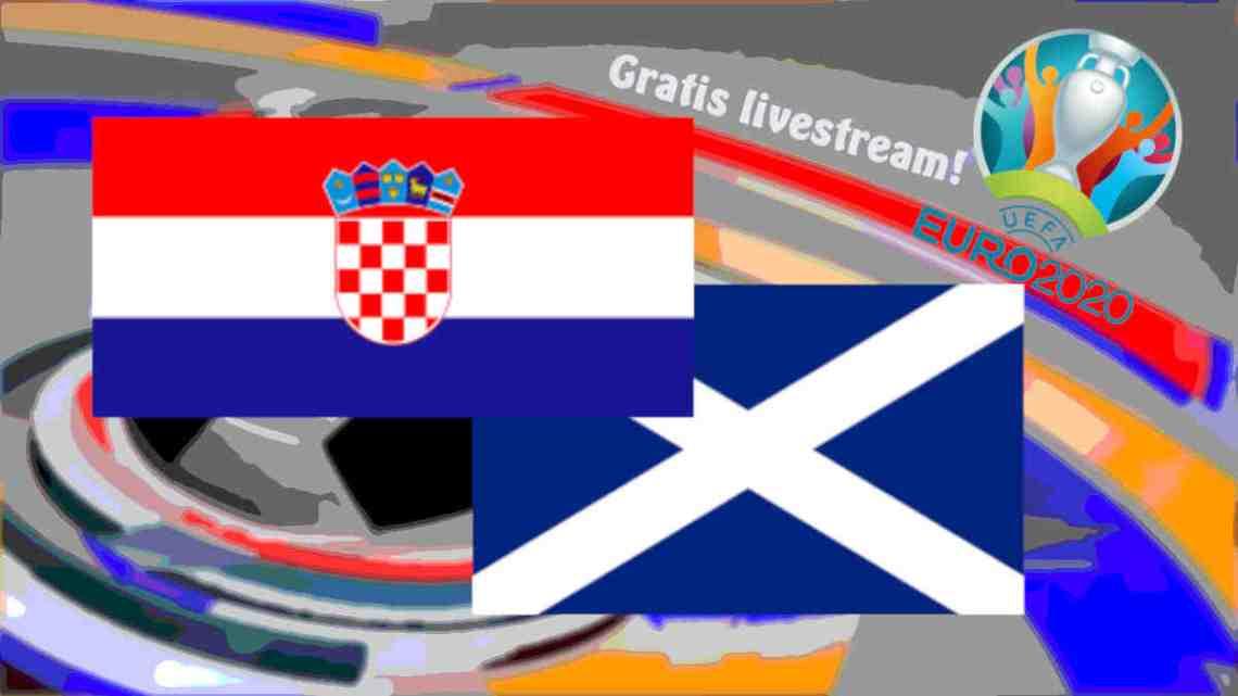 Livestream Kroatië - Schotland