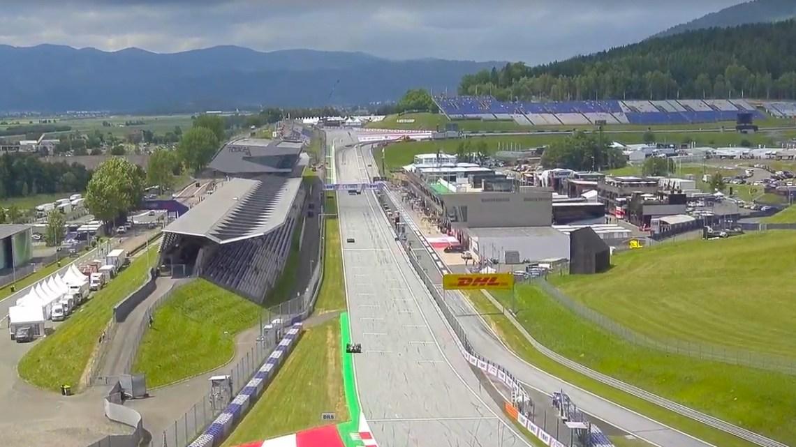 Livestream Formule 1 Grand Prix van Oostenrijk