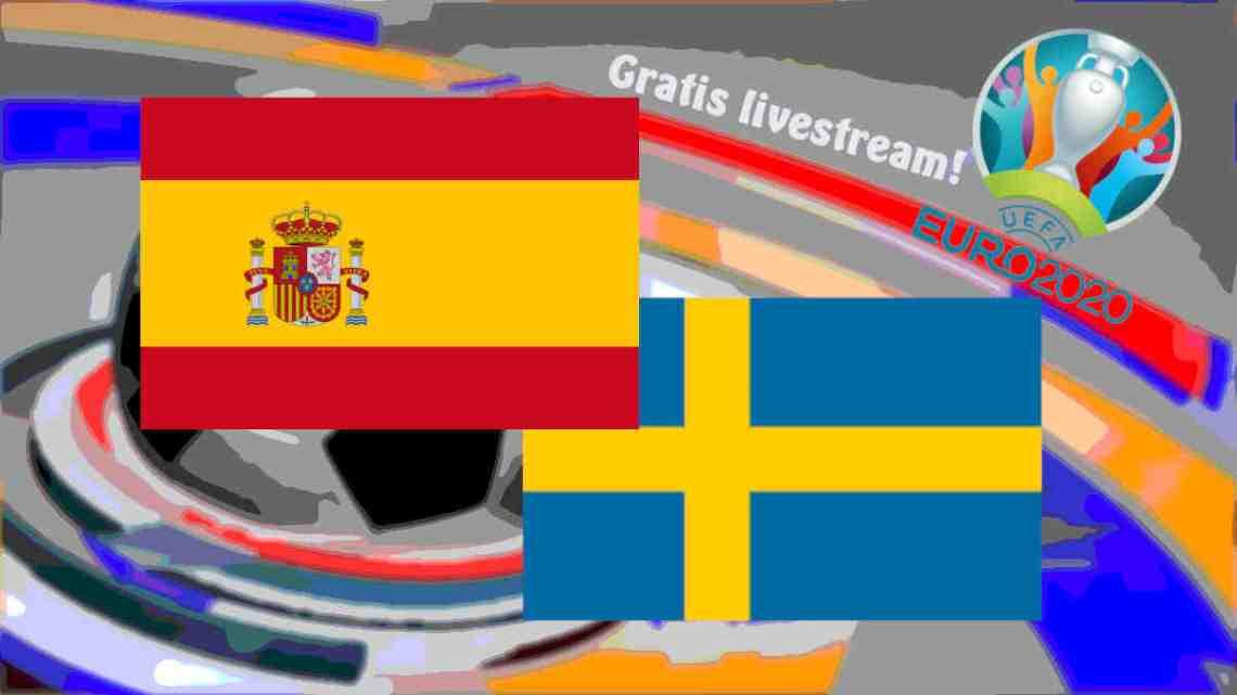 Livestream Spanje - Zweden