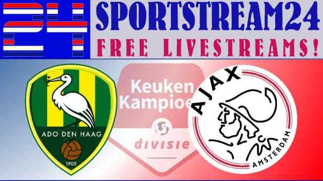 Livestream ADO Den Haag - Jong Ajax