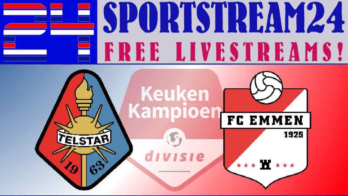 Livestream Telstar - FC Emmen