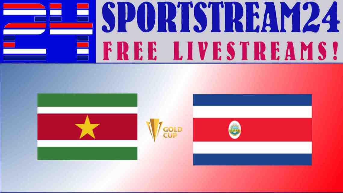 Livestream Suriname - Costa Rica