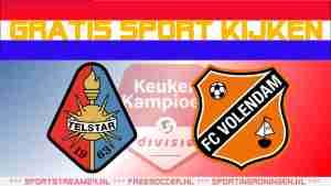Livestream Telstar vs FC Volendam