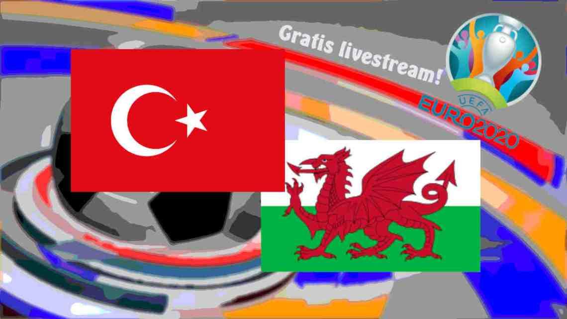 Livestream Turkije - Wales
