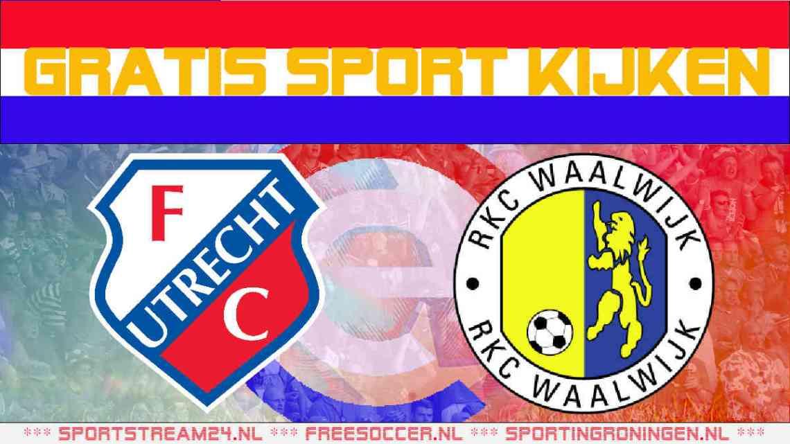Livestream FC Utrecht - RKC Waalwijk