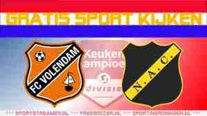 Livestream FC Volendam vs NAC Breda