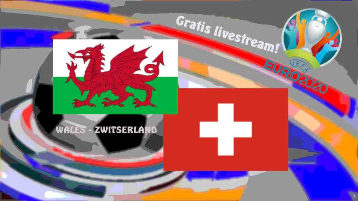 UEFA EURO2020: Livestream Wales - Zwitserland