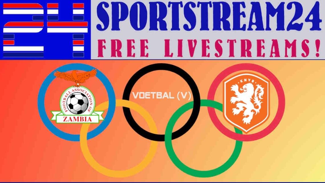 OS 2020 Tokio livestream Zambia - Nederland