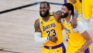 LeBron James and Anthony Davis Sign Up for Lakers' Bright Future