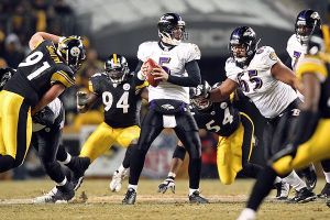 Flacco put together a brilliant performance in the Ravens' road game in Pittsburgh.