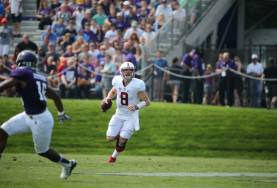 Kevin Hogan tossed 155 yards, and one interception in Stanford's opening loss (GoStanford.com)