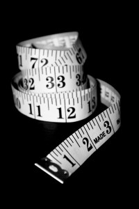 Measure your waist not your weight