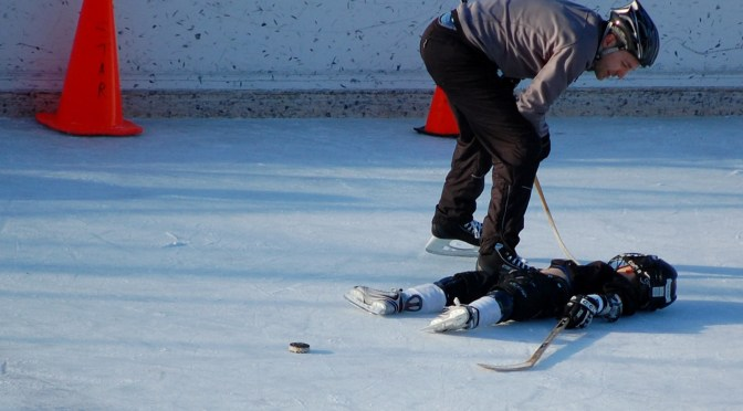 Concussions in Hockey May Cause Brain Damage