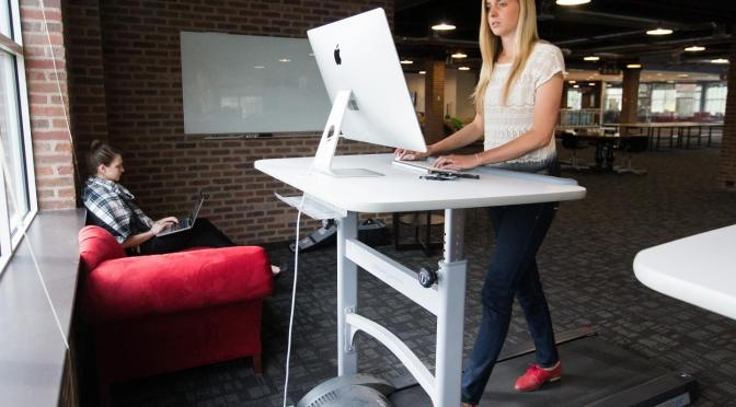 Treadmill desk and cognitive performance.