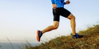 fast running uphill