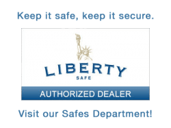 Go to Liberty Safes website