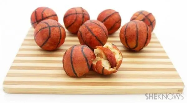 March Madness Basketball Appetizer