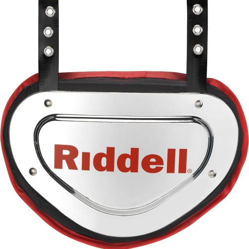 BACK PLATE RIDDELL CHROME