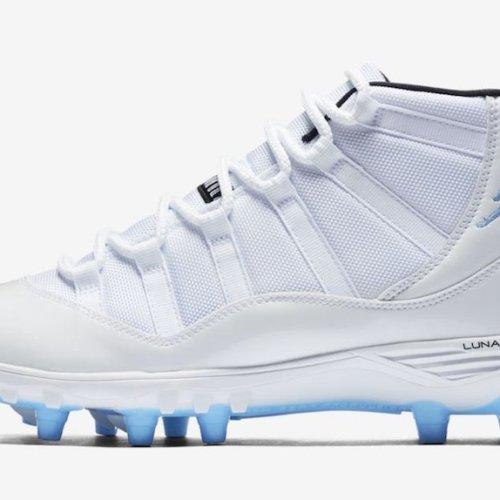 Nike Air JORDAN XI 11 CLEATS FOOTBALL CRAMPONS