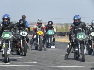 Competición de motos clásicas en FK1