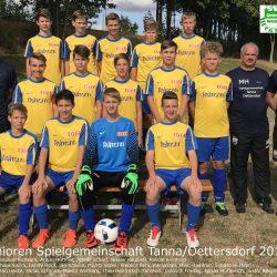 SG Tanna/Oettersdorf - VfR Bad Lobenstein 0:5 (0:1)