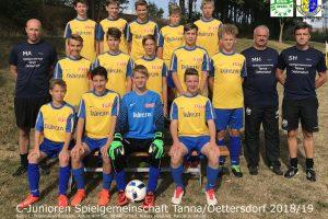 SG Tanna/Oettersdorf – VfR Bad Lobenstein 0:5 (0:1)