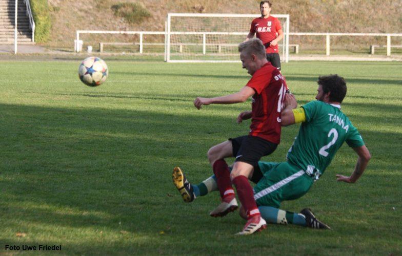 SG SV Grün-Weiß Tanna -  SV Fortuna Gefell 2:2 (1:1)