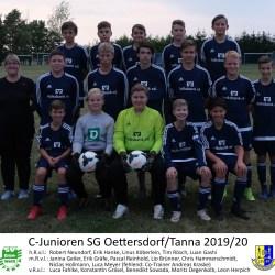Pokalfinale in Tanna | C-Junioren greifen nach dem Titel