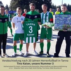 Abschiedsspiel unserer Nummer 3 - Tino Kaiser