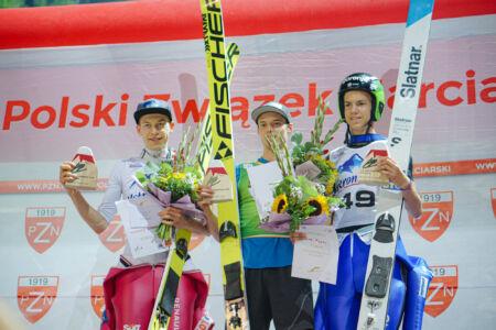 1. Philipp Aschenwald, 2. Aleksander Zniszczoł, 3. Zak Mogel - sCoC Wisła 2018
