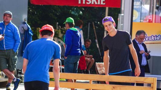 Andreas Wellinger - SGP Wisła 2017