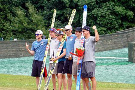FIS Cup Szczyrk 2019 - Team Austria (Claudio Moerth, Maximilian Steiner, Maximilian Lienher)