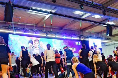 Go Active Show 2019 - trening