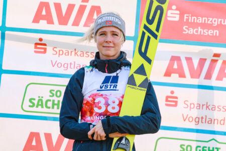 Maren Lundby - WSGP Klingenthal 2018