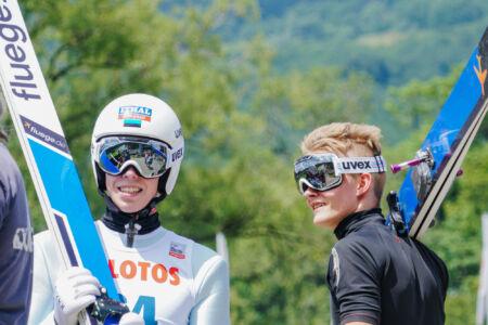 Martti Nõmme, Kevin Maltsev - FIS Cup Szczyrk 2018
