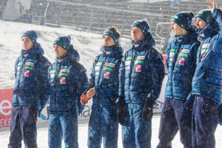 Team Slovenia - WC Willingen 2018