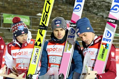 WC Klingenthal 2019 - Kamil Stoch, Jakub Wolny, Piotr Żyła