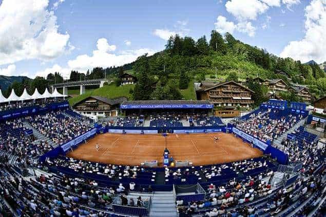 2. Roy Emerson Arena, Gstaad, Switzerland