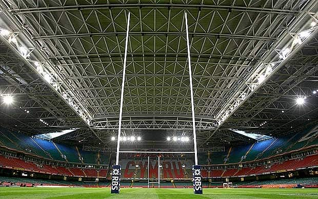 The Millenium Stadium, Cardiff