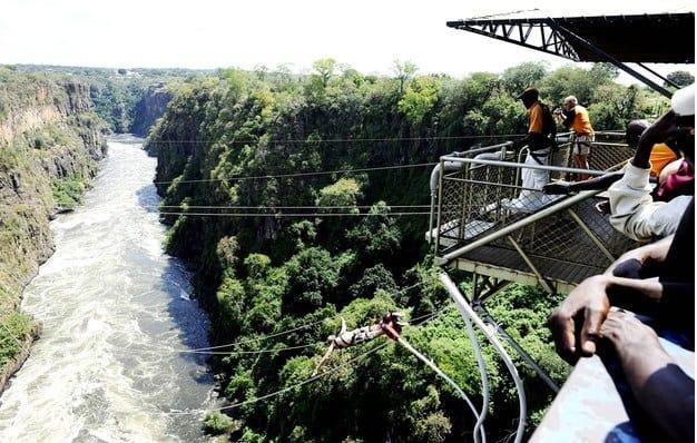 Victoria Bridge Falls, Zimbabwe