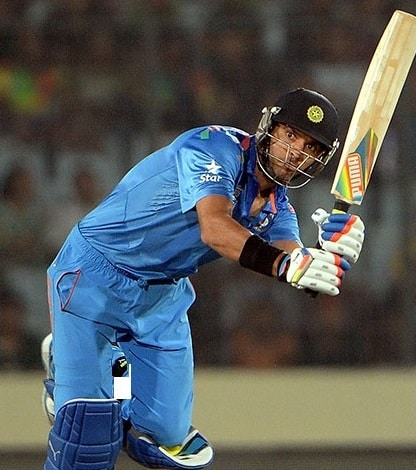 Yuvraj Singh back in form just before the Semis