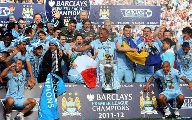 Manchester City Wins English Premier League
