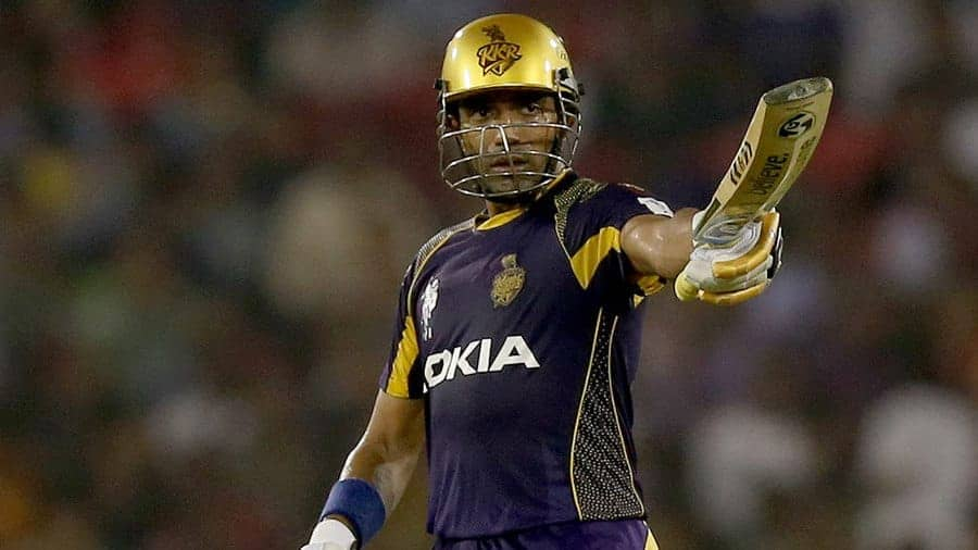 Robin Uthappa's highest IPL score helped KKR win the game easily