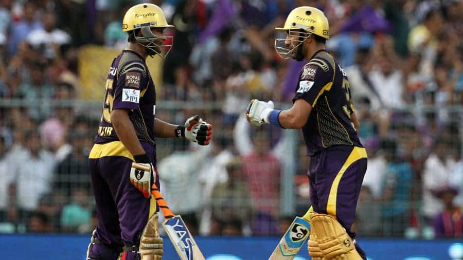 Shakib and Uthappa added 121 runs for the fourth wicket